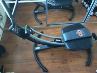 Ab Glider Exercise Machine