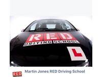 Martin Jones RED Driving School