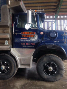 Camion 12 roues Ford L9000