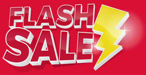 50% OFF ALL CLOTHING FLASH SALE!