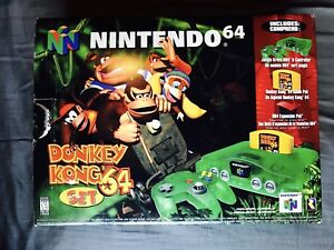 Nintendo 64 Jungle Green en Boîte Edition Donkey Kong