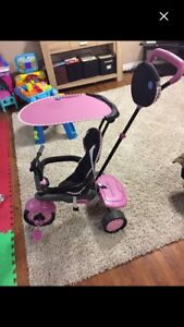 Pink stages smart trike