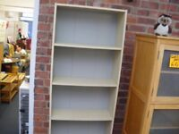TALL BOOKCASE.