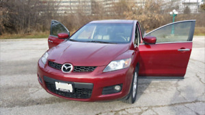 Mazda cx7, 2007, turbo SUV ,amplifier subwoofer,leather seat