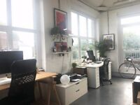 Desk space available in shared creative studio - Lighthouse Studios, Dalston