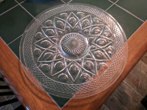 Crystal - 14'' Serving Platter