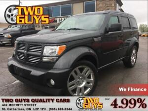 2010 Dodge Nitro SXT LEATHER 4WD CHROME RIMS