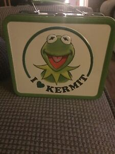 I love Kermit lunchbox