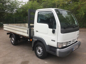 LOW MILEAGE NISSAN CABSTAR DROPSIDE TRUCK 56 REG - 1 COMPANY OWNER WITH FULL SERVICE HISTORY !!!!!!!