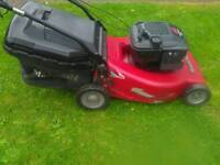 Mountfield Self Propelled Large Deck Mower Petrol LawnMower""