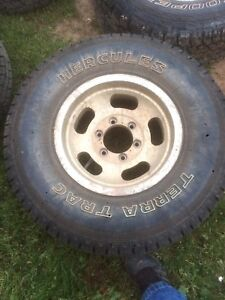 4 31 10.5 15 rims fit chev/Toyota
