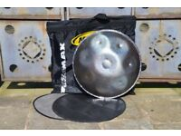 "24"" Handpan in E with Soft Carry Case £1050"