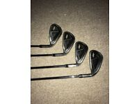 Callaway irons and Odyssey Putter