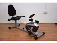 JLL Fitness LTD - RE100 Recumbent Exercise Bike - Ex Showroom Model - Collection Only -REDUCED PRICE