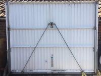 Lockable Garage Door with frame & key