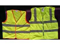 Two High Visibility Vests