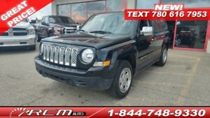 2013 Jeep Patriot Sport FWD MANUAL SUV GREAT STARTER VEHICLE