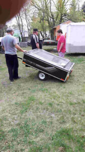 Time Out Tent Trailer Queen Size