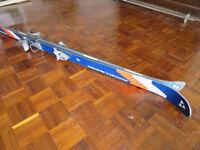 Fischer Futura Super skis 170cms, Salomon bindings