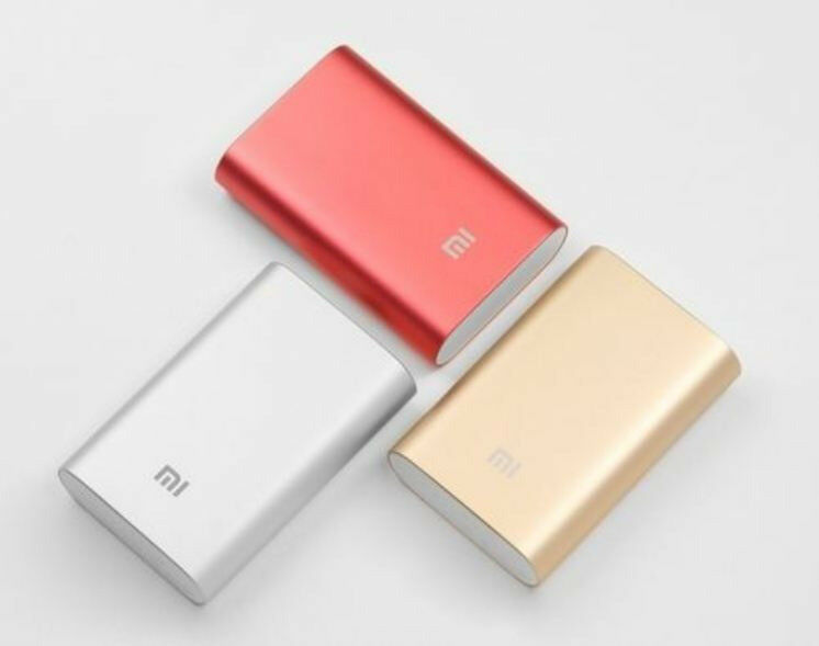 NEW Original Xiaomi Pocket 10000mAh Mobile Power Bank For Smartphones Tablets 2.1A Quick Charge