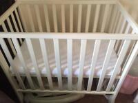 Mamas & Papas Petite cot and mattress