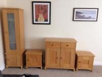 Living Room Beech Furniture (STAG)