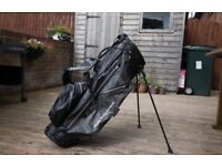 Sun Mountain H2NO 14 Way Lite Golf Carry/Stand Bag- Mint Condition