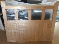 """LPD Redwood garden gate 914mm high (36"""") x 1067mm Wide (42"""") x 44mm thick."""