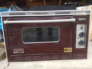 Viking professional gas convection oven