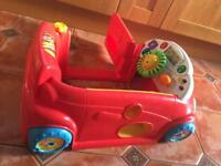 Fisher Price laugh and learn sit in car