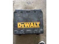 18 volt dewalt drill , quick sale