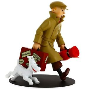 Tintin and Snowy HOMECOMING! Statue by Moulinsart, Ltd. Edition
