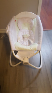 Fisher Price Deluxe Auto Rock n Play Swing, Bassinet