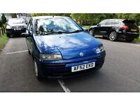 2002 Fiat Punto 1.2 Active 5dr Fully HPI Clear Low insurance group 1 Year MOT @07725982426 @