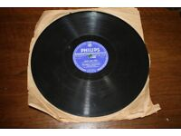 Philips 78 RPM Record - Frankie Vaughan - Man On Fire & Wanderin Eyes