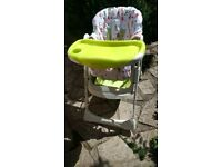 Mamas and Papas Zest Highchair, good condition