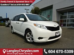2016 Toyota Sienna 7 Passenger * ACCIDENT FREE * ONE OWNER *...