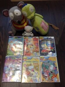 Toopy, Binoo, patchy patch and 6 dvds