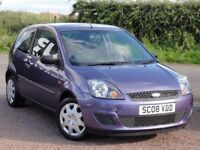 Ford Fiesta 1.25 Style Climate, Manual, 2008 / 08 Reg, 84k Miles, MOT: 1 Year