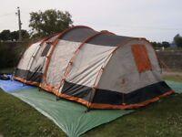 OLPro Martley 2.0 - 6 Person Tent - 2 Bedrooms VGC