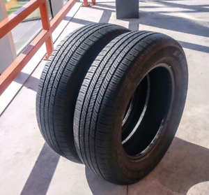 Set of two 195/65/15 Goodyear Eagle LS all season tires