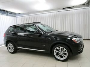 2015 BMW X3 28i x-DRIVE AWD SUV w/ PANORAMIC MOONROOF & REAR C
