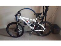 Felt racing compulsion 3 full suspension mountain bike hydraulic disc shimano slk