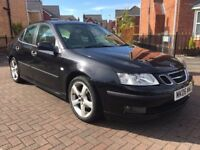 2006 SAAB 9-3 2.0 TID VECTOR 4DR BLACK AMAZING CONDITION