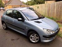 used peugeot 206 cars for sale in kingston, london - gumtree