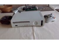 XBox 360 + 12 Games & two controllers