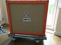 Orange 4x12 Guitar Cab PPC412 with Swan Flight Case