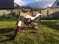 FANTIC 241 fm450 212cc trials bike