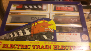 OH scale model train kit CN Hustler