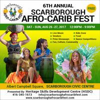 SCARBOROUGH AFRO CARIB FEST VENDORS